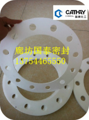 玻纖填充四氟墊片 帶孔改性四氟墊片