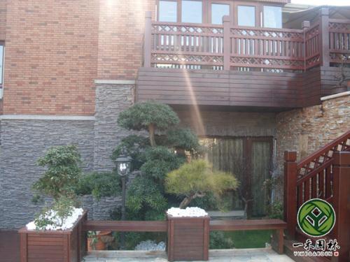 欧式庭院景观设计 欧式小庭院景观设计