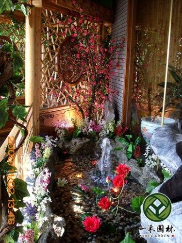 入戶花園景觀設計 室內入戶花園景觀設計