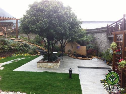 乡村小庭院景观设计 农村小庭院景观设计