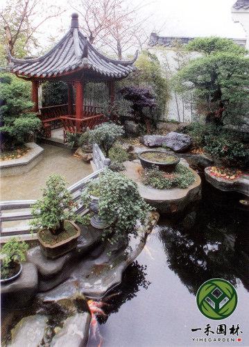 中式别墅庭院景观设计