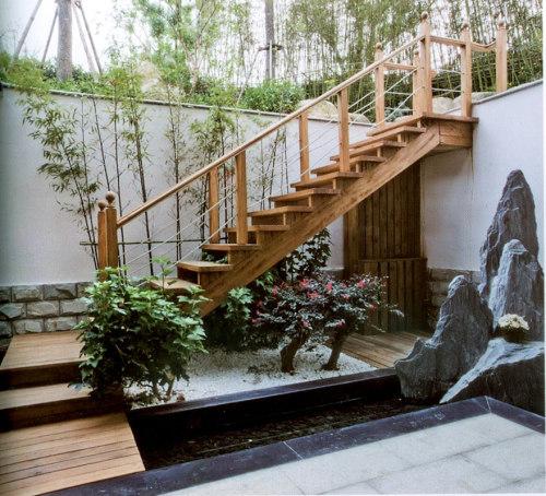 下沉式庭院景观设计
