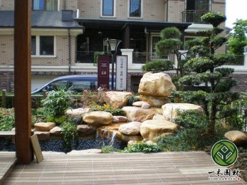 私家小庭院景观设计施工