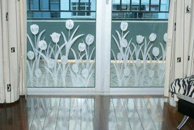 农村房屋玻璃大门装修图片