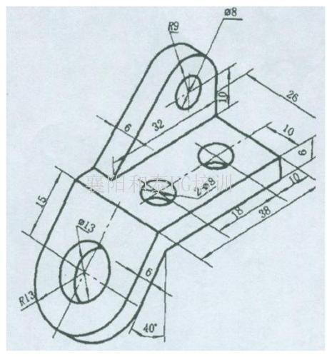 手绘教室立体空间图