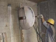 水下切割-厦门水下绳锯切割混凝土公司 液压绳锯切割图片