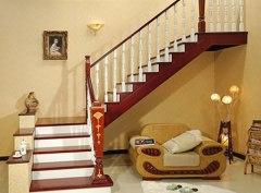 室内楼梯设计室内楼梯款式石家庄楼梯石家庄别墅装修图片
