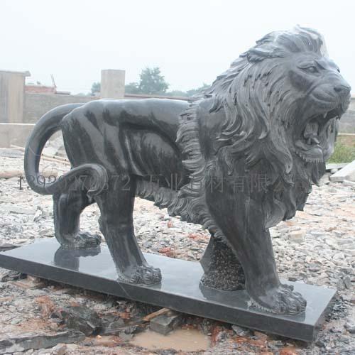 首页 工艺品 雕刻和雕塑品 西方石雕狮子  型号: wy-石雕动物 产地