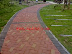 陕西九孔草坪砖