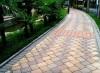 西安人行道彩磚施工13572999369