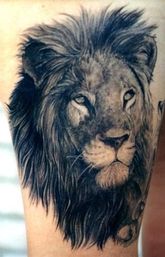 狮子纹身雄狮纹身-海商网