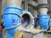 脱硫浆液泵修复
