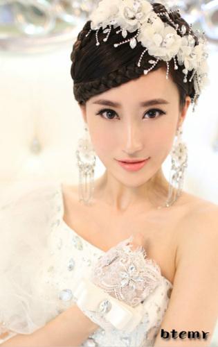 现代新娘,韩式新娘,中式传统新娘
