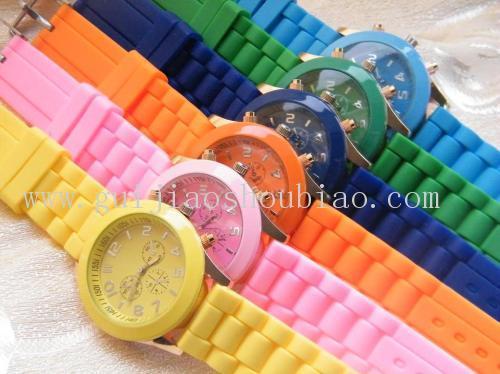 手表硅胶表带