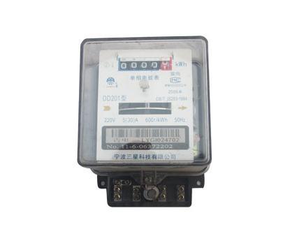 老式电表怎么接线