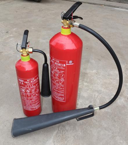 二氧化碳灭火器使用