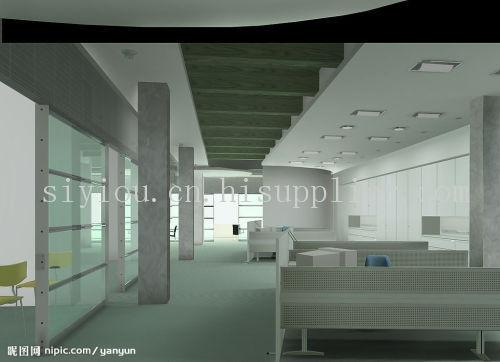 苏州办公室装修玻璃隔墙