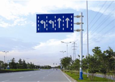 南京城市道路指示牌图解