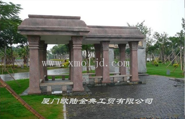 安装:欧式(grc)外墙装饰材料有grc罗马柱