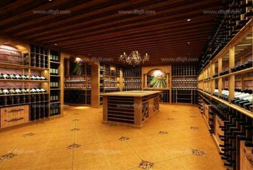 葡萄酒窖设计卖场酒庄酒窖定做