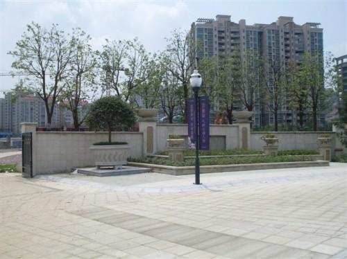 公园入口雕塑