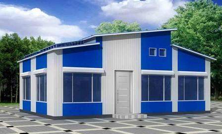 此類集裝箱房常見于建筑工地作為工人的宿舍使用,也有人當做出租房屋