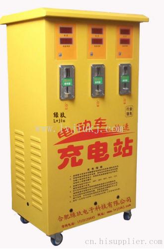 3路柜式快速充电站