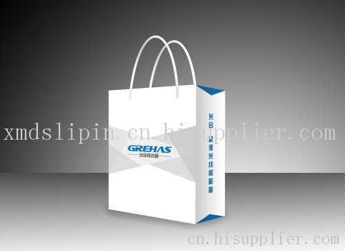 厦门达昇供应手提纸袋(300g白卡纸、黑卡纸、牛皮纸等)
