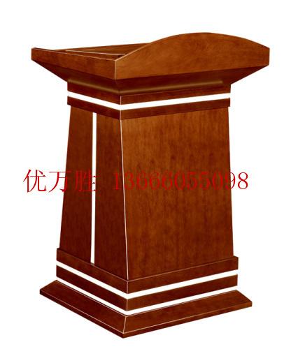 办公家具 实木讲台