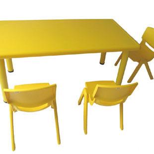 儿童长方形桌子整套出租