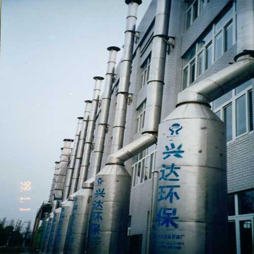 通常厂家在废气塔上的加药点都是取在废气塔补水箱