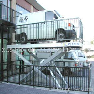 固定式车库升降机图片