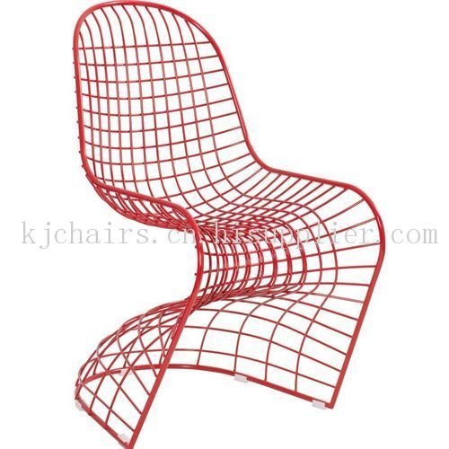 造型椅 金属网餐椅 钢丝铁丝椅