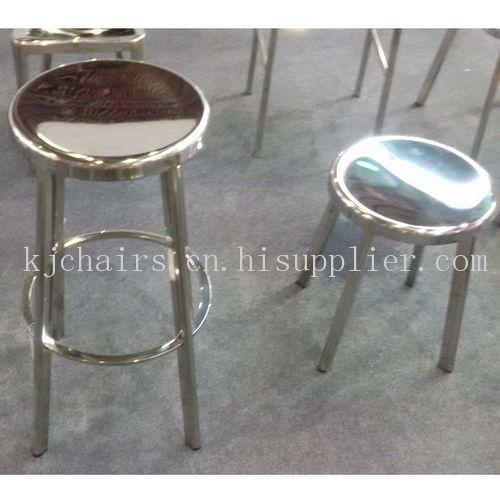 新款耐用不锈钢圆凳子椅子图片