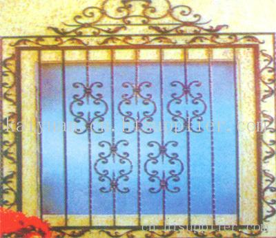 河北铁艺护窗 护窗 防盗窗-海商网