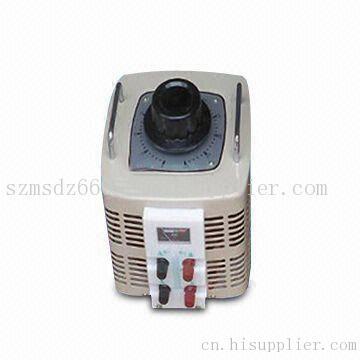 单相调压器a,x接线柱为输入,a,x接线柱为输出端;三相调压器a,b,c接线
