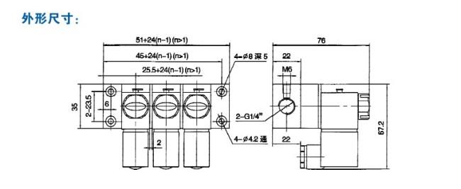 电磁阀阀组图片