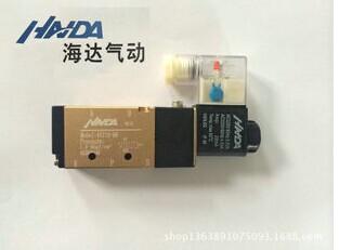 dc12v ;dc24v;ac110v  ;ac220v         该款海达 气动电磁阀,采用图片