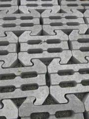 四空式护锁砖
