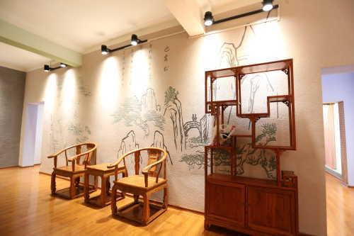 硅藻泥背景墙效果图-海商网