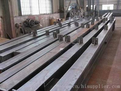 q345 建筑建材: 钢材 产品摘要: 我公司专业生产焊接钢结构材料构件