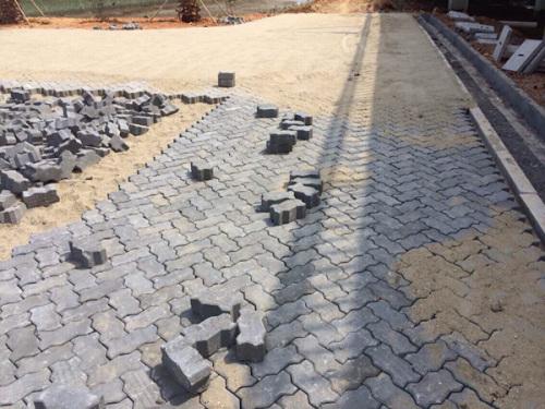 濕地公園聯鎖透水磚項目