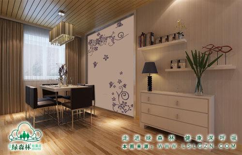 简约风格的硅藻泥餐厅效果图
