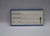 蓝色磁铁标签  山东锦轩    标签