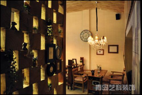 青岛美式咖啡厅装修设计餐饮空间装修设计