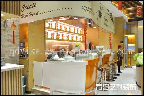 青岛韩式餐厅装修设计
