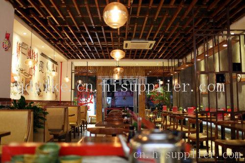 青岛中餐厅装修设计