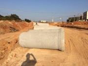 乐动体育直播平台翔安大嶝岛水泥管工程---施工现场