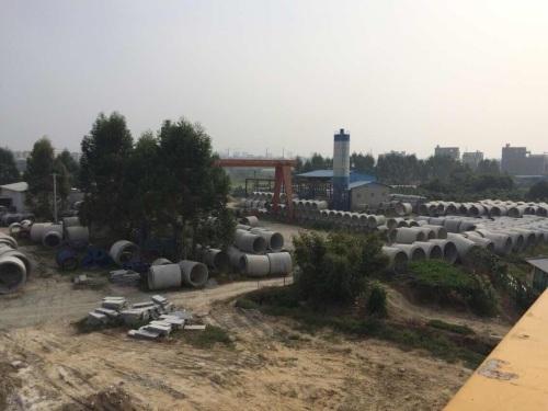 水泥管厂房全景
