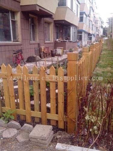 信阳防腐木栅栏